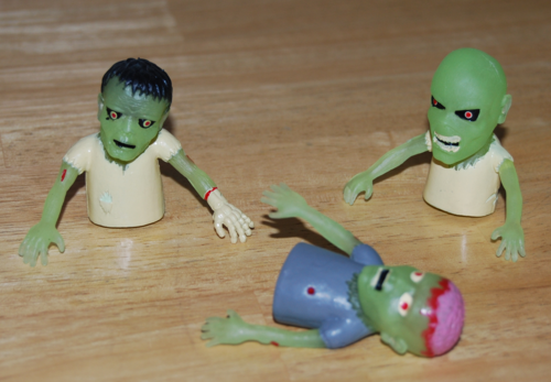 Monster finger puppets 3