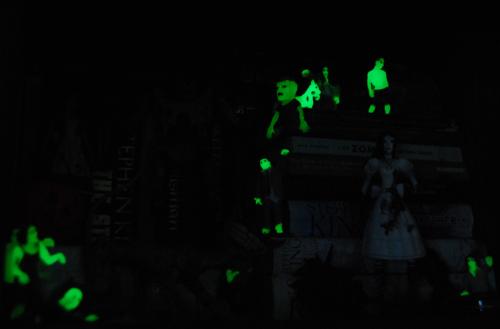 Zombies glow