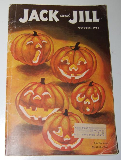 Jack & jill october 1953