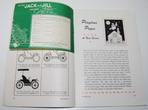 Jack & jill october 1953 8
