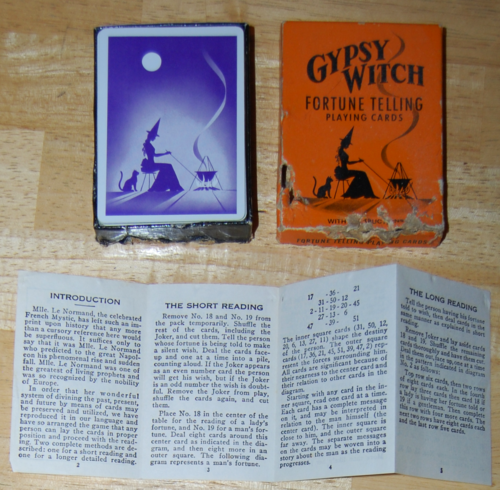 Gypsy witch fortune telling cards 3