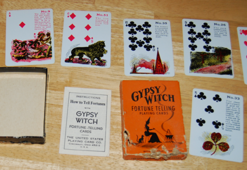 Gypsy witch fortune telling cards 8