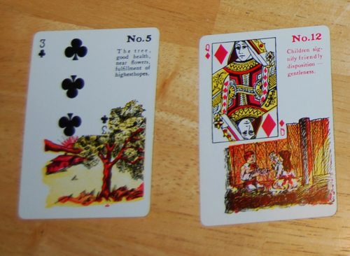 Gypsy witch fortune telling cards 9