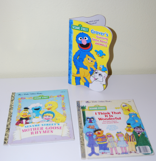 Sesame street books (3)