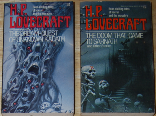 Lovecraft paperbacks 1983