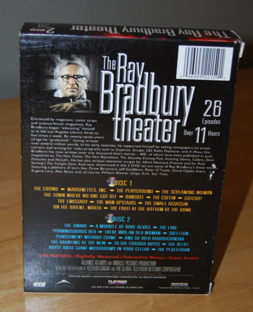 Ray bradbury theater dvds x