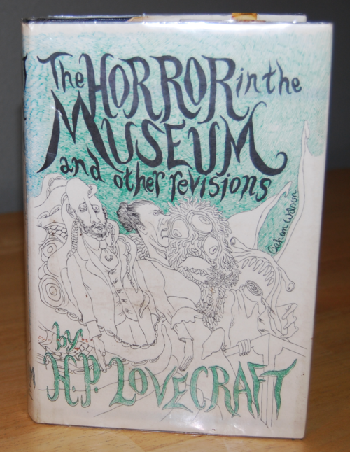 Lovecraft arkham house horror in the museum 1970