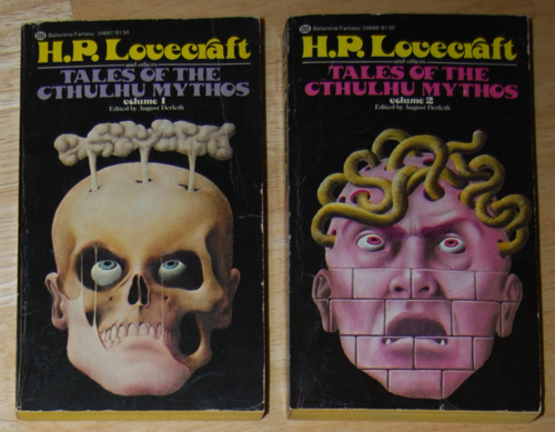 Lovecraft paperbacks 1975
