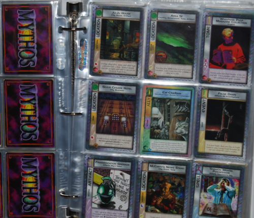 Lovecraft mythos collector cards