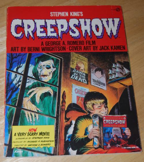 Stephen king's creepshow book