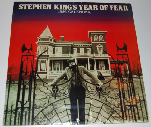 Stephen king calendar 1986