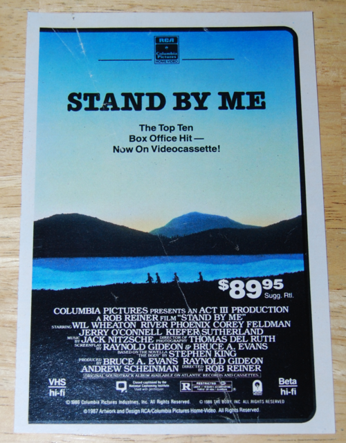 Stand by me ad