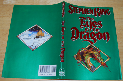 Eyes of the dragon bookcover