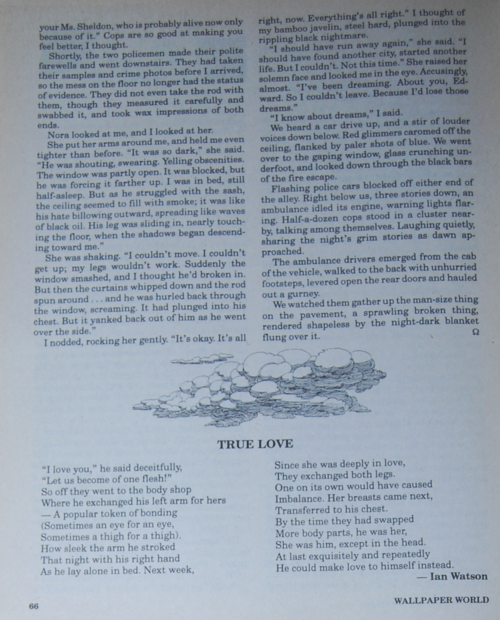 Weird tales true love