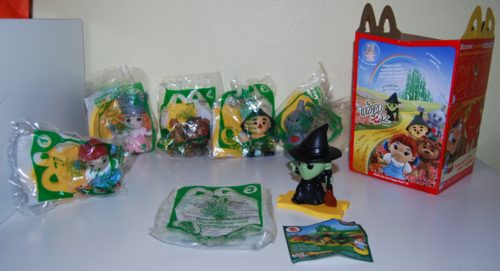 Mcd wizard of oz kid's meal 75 anniversary
