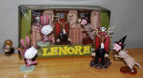 Lenore figures set 2