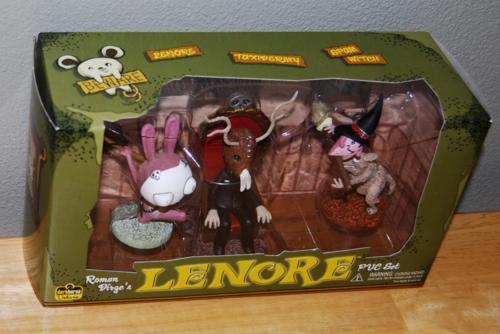 Lenore figures set 6