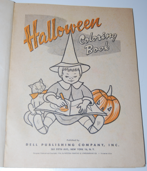 Dell halloween 1954 1