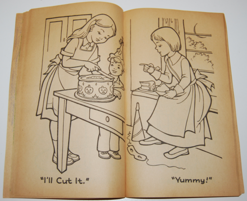 1955 dell halloween coloring book 5