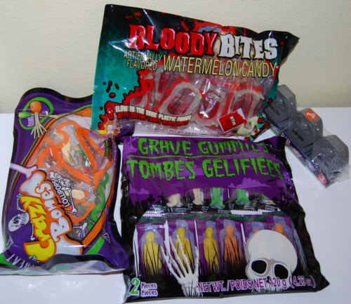 Halloween candy x
