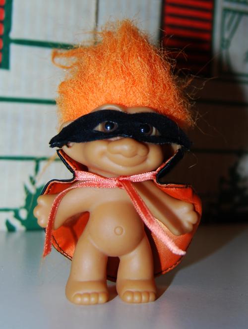 Halloween troll