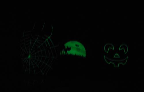 2013 halloween soapbottles glow in the dark