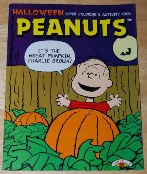 It's the great pumpkin halloween coloring book