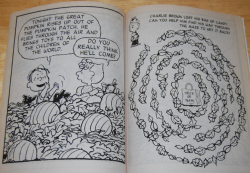 It's the great pumpkin halloween coloring book 3