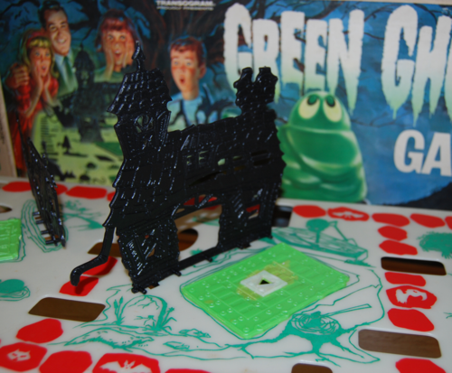 Transogram green ghost game 1965 2