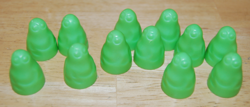 Transogram green ghost game 1965 12