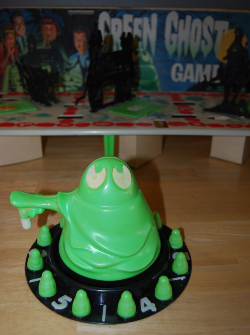 Transogram green ghost game 1965 11