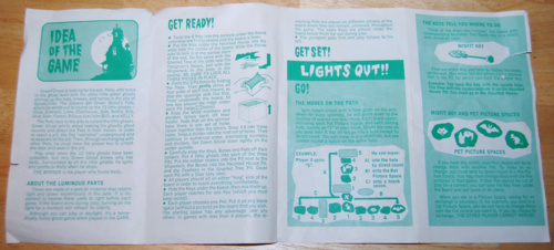Transogram green ghost game 1965 5