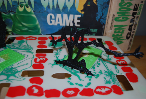 Transogram green ghost game 1965 1