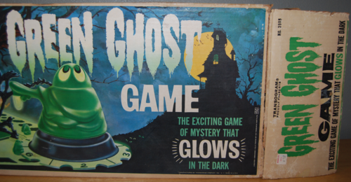 Transogram green ghost game 1965 box 2