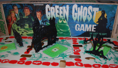 Transogram green ghost game 1965 8