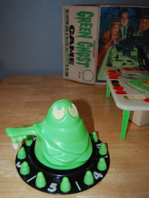 Transogram green ghost game 1965 4