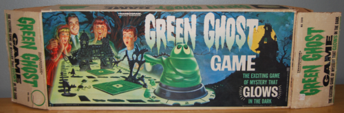 Transogram green ghost game 1965 box