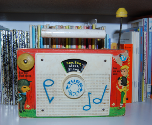 Fisher price radio black sheep x