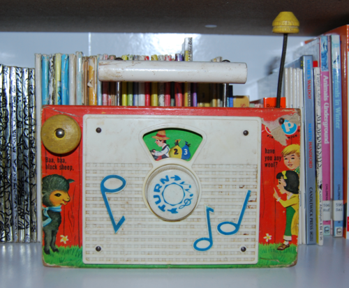 Fisher price radio black sheep