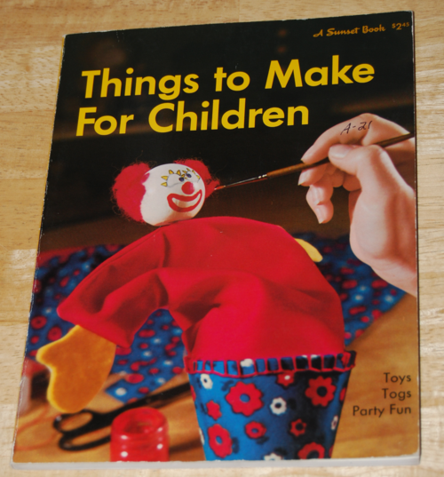 Things to make for children sunset book