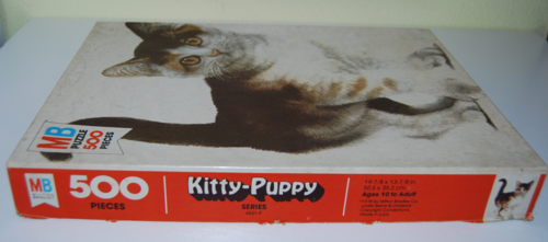 Vintage mb kitty puzzle 3
