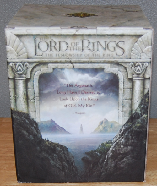 Lord of the rings dvds 2