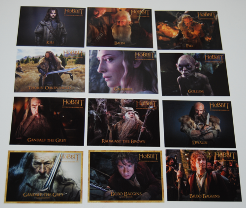 The hobbit collector cards