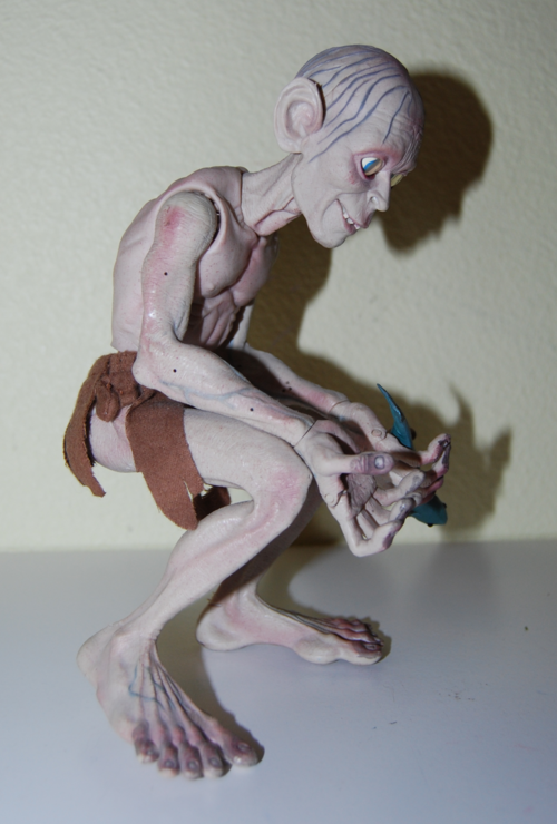 Gollum talking figure 5