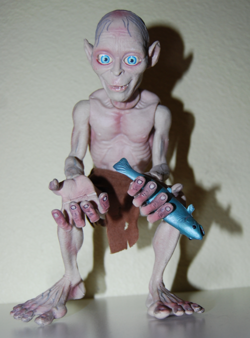 Gollum talking figure 3