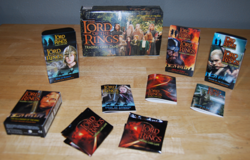 Lord of the rings collector card sets x 2