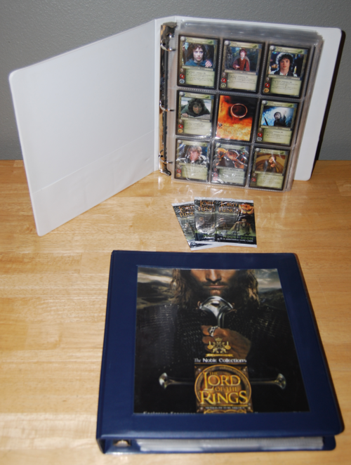 Lord of the rings collector cards