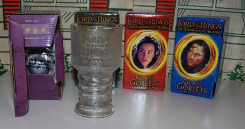 Lor glass goblets x