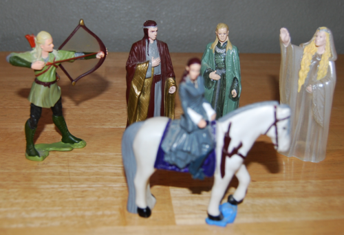 Lord of the rings prizes burger king 3