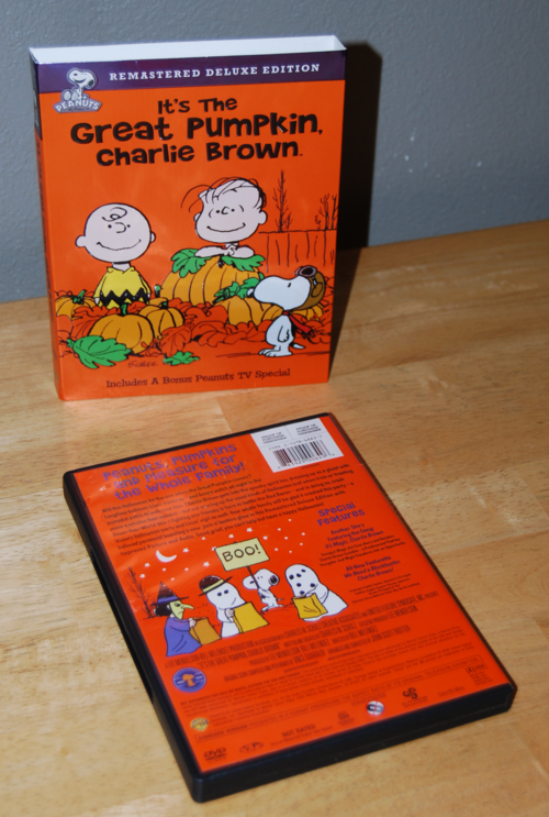 Its the great pumpkin dvd